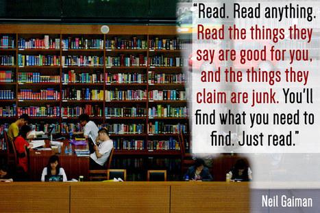 17 Writers On The Importance Of Reading | Skolbiblioteket och lärande | Scoop.it
