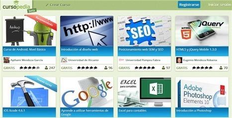 Cursopedia, colección de cursos para aprender o enseñar | Docente Heutagógico | Scoop.it