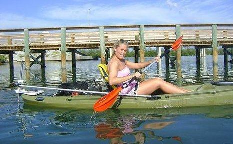 Kayak Motor - The Skimmer - Get Home Safely | Paddlesports | Scoop.it
