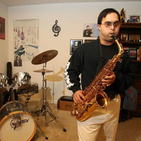 Musician with Down's Syndrome provides inspiration to others - Buffalo News | Multiple Intelligences in the Elementary School Classroom | Scoop.it
