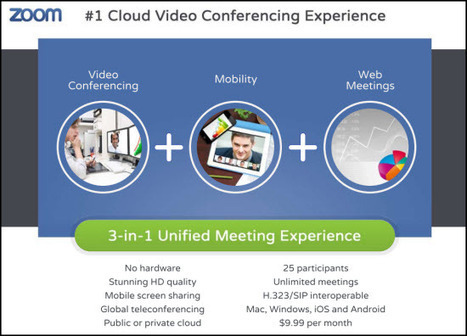 The Zoom Version 2.0 Cloud VC Service Sets a New Bar - Telepresence Options | video conferencing | Scoop.it