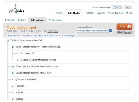 Spicy Nodes, una interesante herramienta para hacer mapas conceptuales digitales | Recull diari | Scoop.it