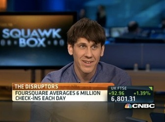 Foursquare CEO Dennis Crowley, Rebuffing Sale Offers, Says Revenues Grew 500% in Q1 2014, 600% In 2013 | TechCrunch | Social Media Company Valuations and Value Drivers | Scoop.it