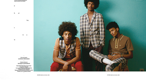 That 70's Show by Georgie Wileman | Open Lab Magazine Spring/Summer 2013 | DerriusPierre.Com | Scoop.it
