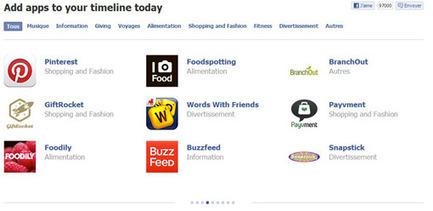 Facebook : 60 nouvelles applications sociales | Google - le monde de Google | Scoop.it