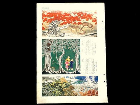 Vintage Japanese Print Paintings Exhibited at Japanese Fine Art Exhibition in 1936 Art Magazine Page Cut Out   Etsy Today   Scoop.it