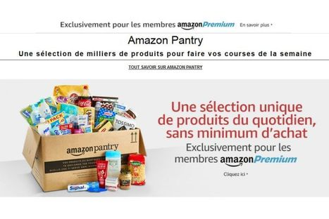Amazon lance Pantry et pourrait faire un carton (ou pas)   Retail' topic   Scoop.it