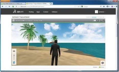 Cargar, crear, compartir y comercializar contenido 3D Con 3DVIA | Plantillas Power Point | Plantillas para Power Point | Scoop.it