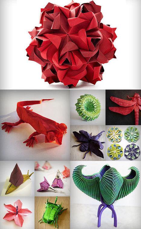 Origami Greenhouse | Art is Everywhere | Scoop.it