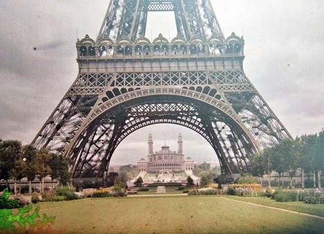 Photos Taken 100 Years Ago Capture Rare Look at Paris in Color | Organic Pathos | Scoop.it