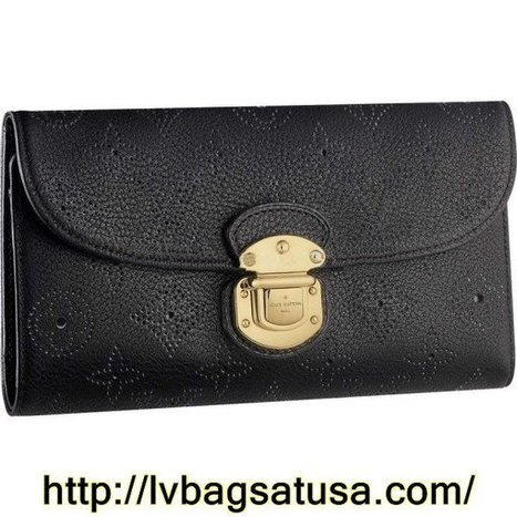 Louis Vuitton Amelia Wallet Mahina Leather M95549 | Cheap Sale Louis Vuitton Factory Outlet Online | Scoop.it