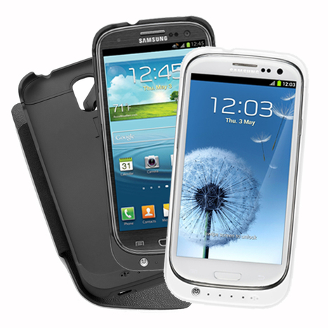 76% off Galaxy S3 and S4 Extended-Battery Cases - Doubles Battery Life! | Deals | Scoop.it