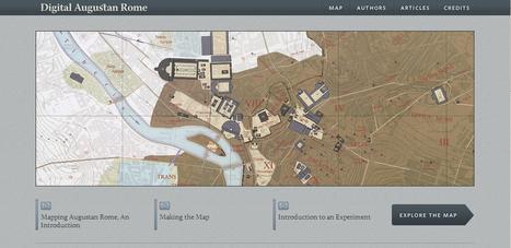 Homepage - Digital Augustan Rome | Archéologie - MSR_Tlse | Scoop.it