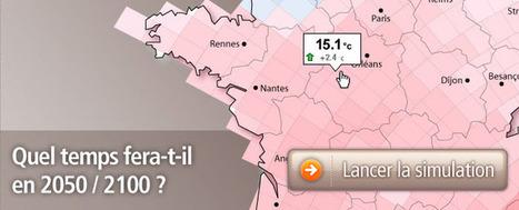 Simulateur climatique / Carte interactive   Science & Vie   indicatif futur   Scoop.it