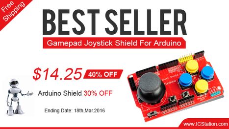 Up to 40% Off Arduino Shield for 3 Days | Arduino, Raspberry Pi | Scoop.it