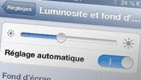 Niveau de luminosité sur l'iPhone : l'impact sur l'autonomie est certain... La preuve par la mesure | système d'exploitation des mobiles | Scoop.it