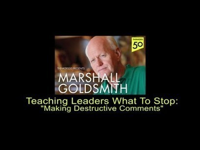 The Marshall Goldsmith Thinkers50 Video Blog - Thinkers 50 | Personal Best | Scoop.it