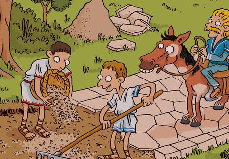 Quiz sur l'archéologie. La Gaule romaine à petits pas | Inrap | Salvete discipuli | Scoop.it
