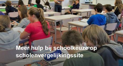 Meer hulp bij schoolkeuze op scholenvergelijkingssite | Opvoeden tot geluk | Scoop.it