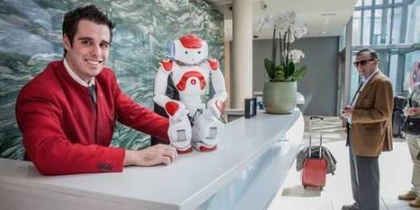 Mario, le robot réceptionniste | Love Paris | Scoop.it