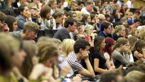 """Faut-il """"diriger l'universitaire en échec vers une haute école dès janvier""""? - RTBF Societe   Décret Paysage de l'enseignement supérieur   Scoop.it"""