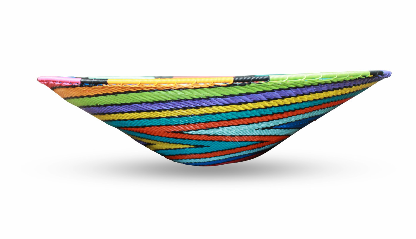Telephone Wire Multi Coloured Bowl