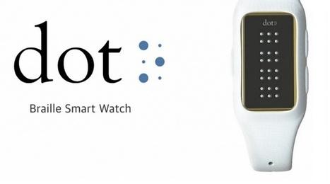 Une première smartwatch en braille développée par Dot - Presse-citron (Blog)   Horlogerie   Scoop.it