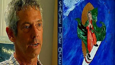 """Surfing Madonna Artist: """"It's a Gift"""" 