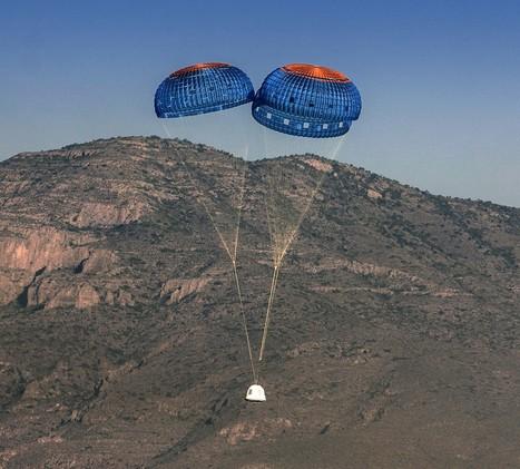 Jeff Bezos says Blue Origin's next spaceflight will test parachute failure | Aerospace and aviation construction | Scoop.it