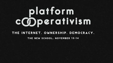 MoneyLab: Economies of Dissent   Unpacking Platform Cooperativism   Media Aesthetics Lab   Scoop.it