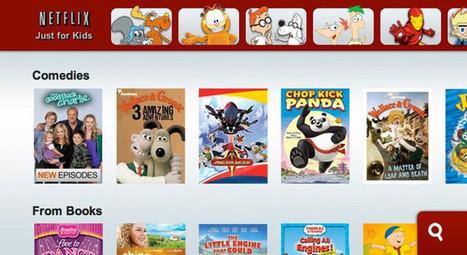 "Netflix ""Just for kids"" section just got bigger - Pocket-lint | Kids-friendly technologies | Scoop.it"