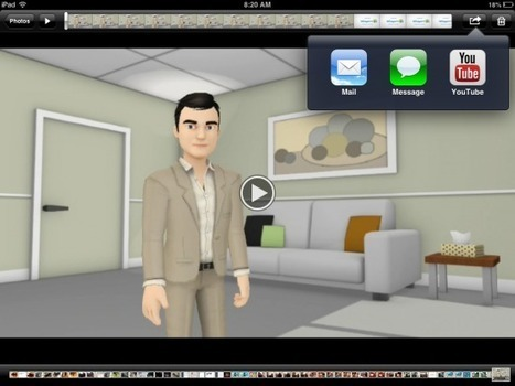 Tellagami - Create Narrated Animations on Your iPad | Digitized media | Scoop.it