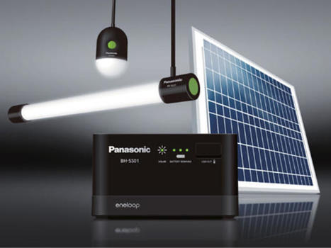 Panasonic bringing light and portable power to those without - CNET | Sciences & Technology | Scoop.it