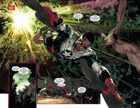 'All-New Captain America' lands at Marvel's diversity front line - Los Angeles Times | Words on Books | Scoop.it
