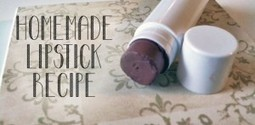 Homemade Natural Lipstick Recipe- Natural Ingredients and Inexpensive to Make | Bien-Être global | Scoop.it