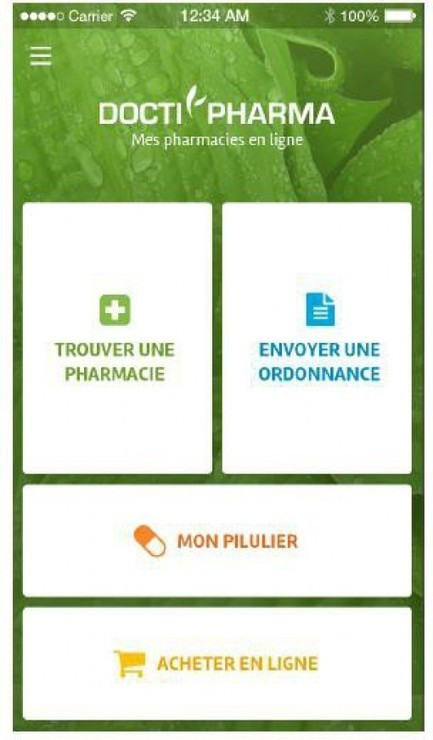 Doctipharma lance sa nouvelle appli scan ordonnance - News Médicaments - Doctissimo | All about Pharma by Pharmacomptoir | Scoop.it