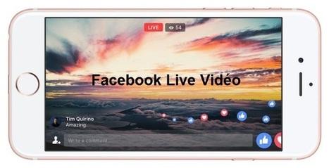 Facebook Live Vidéo permet de masquer les réactions et commentaires | Référencement internet | Scoop.it