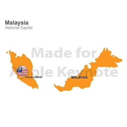 Map of Malaysia for iPad Keynote Presentation | Apple Keynote Slides For Sale | Scoop.it