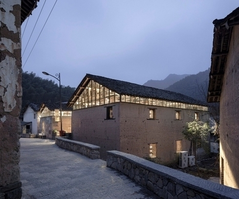 En Chine, une bibliothèque dans un corps de ferme | Détails d'Architecture | Bibliothèque et Techno | Scoop.it