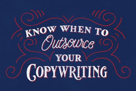 Know When To Outsource Your Copywriting | You don't have to do Everything! | Artdictive Habits : Sustainable Lifestyle | Scoop.it