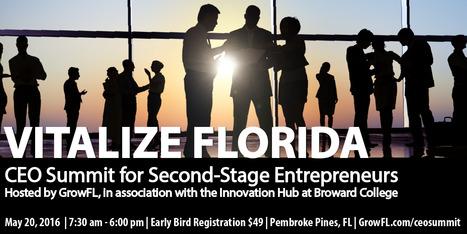Vitalize Florida – GrowFL's CEO Summit – GrowFL   Florida Economic Development   Scoop.it