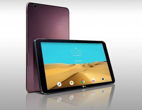 LG G Pad II 10.1 goes official with WUXGA screen, Snapdragon 800 | TCA Wireless Blog | Technology | Scoop.it
