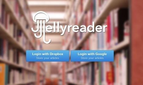 JellyReader Is An Offline RSS Reader For Chrome That Syncs Via Dropbox Or Google Drive | François MAGNAN  Formateur Consultant | Scoop.it