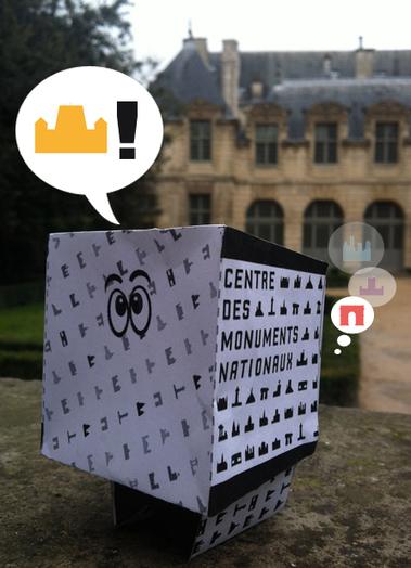 Centre Pompidou Tumblr — Le #PaperToy du Centre des monuments nationaux en... | MuseAnt | Scoop.it