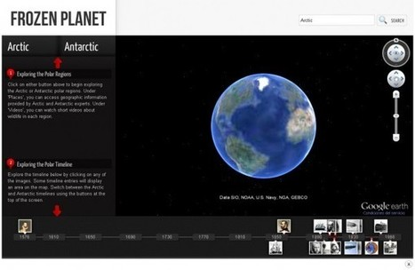 Frozen Planet, explora los Polos de manera interactiva | Era del conocimiento | Scoop.it