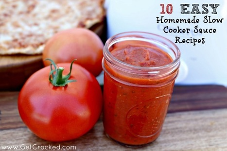 10 Easy and Delicious Slow Cooker Sauce Recipes - Parade | The Slow Cooker Recipe Blog | Scoop.it