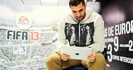 Benzema joue à FIFA 13 sur iPad pour EA | News and games | Scoop.it