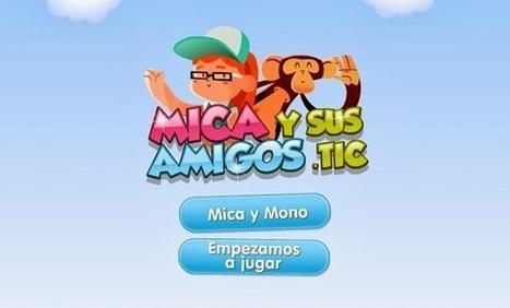 """Recursos Educativos de Educación Infantil: """"Mica y sus amigos.TIC""""   TIC y educación   Scoop.it"""