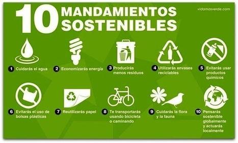 Los 10 mandamientos verdes #infografía | Conciencia Eco | Educación Ambiental | Scoop.it
