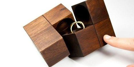 Un packaging aussi beau que le bijou qu'il renferme   Innovation bois   Scoop.it
